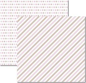 Papel Para Scrapbook Dupla Face 30,5x30,5 cm Arte Fácil - SC-515 - Básico 5