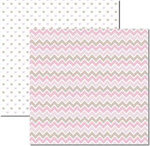 Papel Para Scrapbook Dupla Face 30,5x30,5 cm Arte Fácil - SC-516 - Básico 6