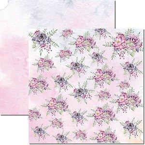 Papel Para Scrapbook Dupla Face 30,5x30,5 cm Arte Fácil - SC-569 - Butterfly 9