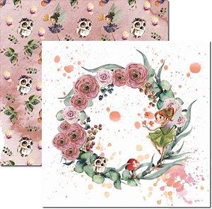 Papel Para Scrapbook Dupla Face 30,5x30,5 cm Arte Fácil - SC-585 - Jessy 2