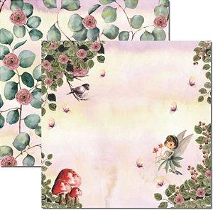 Papel Para Scrapbook Dupla Face 30,5x30,5 cm Arte Fácil - SC-586 - Jessy 3