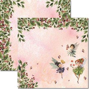 Papel Para Scrapbook Dupla Face 30,5x30,5 cm Arte Fácil - SC-587 - Jessy 4