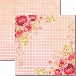 Papel Para Scrapbook Dupla Face 30,5x30,5 cm Arte Fácil - SC-594 - Sweet 1