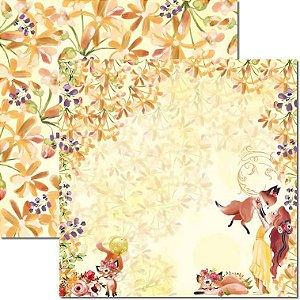 Papel Para Scrapbook Dupla Face 30,5x30,5 cm Arte Fácil - SC-606 - Carinho 5