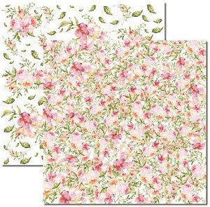 Papel Para Scrapbook Dupla Face 30,5x30,5 cm Arte Fácil - SC-391 - Aquarela 2