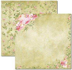 Papel Para Scrapbook Dupla Face 30,5x30,5 cm Arte Fácil - SC-390 - Aquarela 1