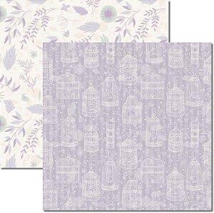 Papel Para Scrapbook Dupla Face 30,5x30,5 cm Arte Fácil - SC-387 - Provence 2