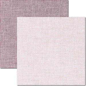 Papel Para Scrapbook Dupla Face 30,5x30,5 cm Arte Fácil - SC-506 - Textura-Linho