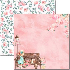 Papel Para Scrapbook Dupla Face 30,5x30,5 cm Arte Fácil - SC-491 - Sweet Girl 2