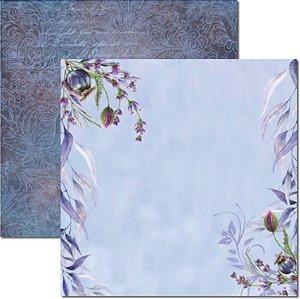 Papel Para Scrapbook Dupla Face 30,5x30,5 cm Arte Fácil - SC-466 - Púrpura 4