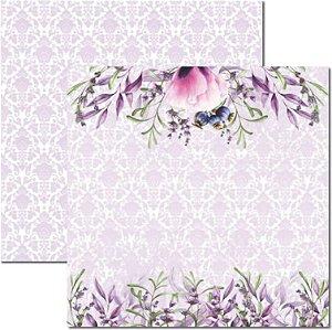 Papel Para Scrapbook Dupla Face 30,5x30,5 cm Arte Fácil - SC-464 - Púrpura 2