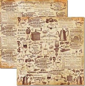 Papel Para Scrapbook Dupla Face 30,5x30,5 cm Arte Fácil - SC-455 - Café 1