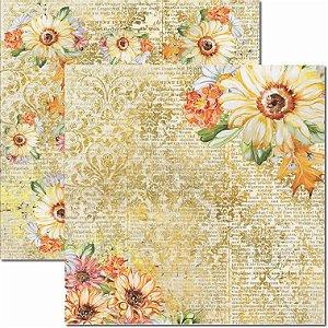 Papel Para Scrapbook Dupla Face 30,5x30,5 cm Arte Fácil - SC-436 - Outono 3
