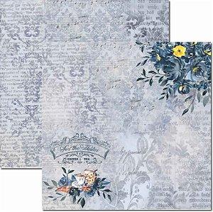 Papel Para Scrapbook Dupla Face 30,5x30,5 cm Arte Fácil - SC-428 - Inverno 2