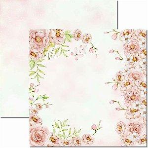 Papel Para Scrapbook Dupla Face 30,5x30,5 cm Arte Fácil - SC-643 - Brisa 10