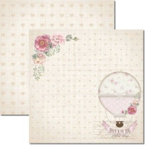 Papel Para Scrapbook Dupla Face 30,5x30,5 cm Arte Fácil - SC-378 - It´s a Baby 1