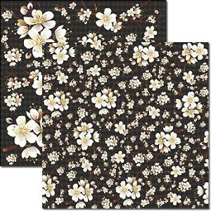 Papel Para Scrapbook Dupla Face 30,5x30,5 cm Arte Fácil - SC-335 Oriental 5