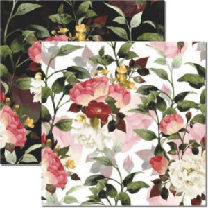 Papel Para Scrapbook Dupla Face 30,5x30,5 cm Arte Fácil - SC-317 Floral 3