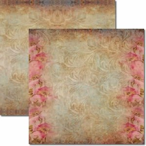 Papel Para Scrapbook Dupla Face 30,5x30,5 cm Arte Fácil - SC-050 Bailarinas 4