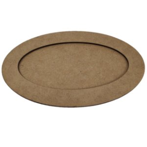 Moldura Oval - 25x17cm - interno 21x13cm