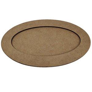 Moldura Oval - 26x20,5cm - interno 24x16,5cm