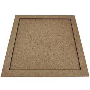 Moldura Quadrada - 24x24cm - interno 20x20cm