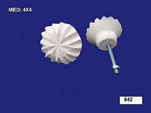 Puxador em Resina Diamante 4x4 cm 842