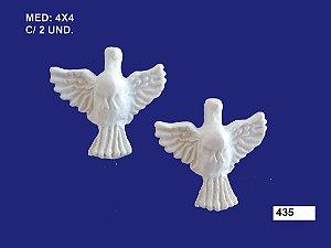 Aplique em Resina Divino Espirito Santo Mini 2 Peças 4cm 435