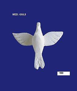 Aplique em Resina Divino Espirito Santo Médio 6x6,5 cm - 199