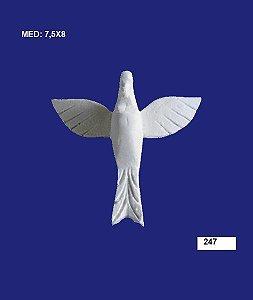 Aplique em Resina Divino Espirito Santo 7,5x8 cm - 247