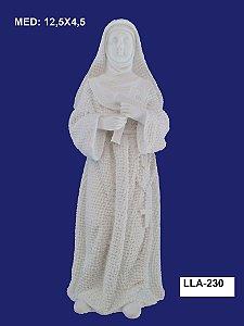Aplique em Resina Santa Rita 12,5x4,5cm - LLA 230