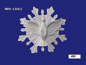 Aplique em Resina Divino Resplendor Com Raio 8,5x8,5cm - 490
