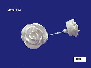 Aplique em Resina Puxador Rosa G 4x4 cm - 818