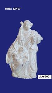 Aplique em Resina Família Sagrada 12x07cm - LLA 300