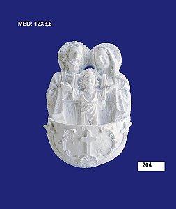 Aplique em Resina Sagrada Família M 12x8,5 cm - 204