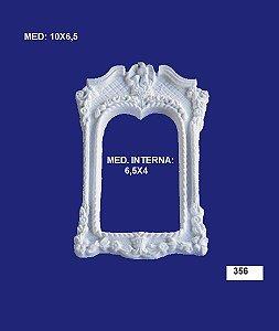 Aplique em Resina Moldura Portal 10x6,5 cm - 356