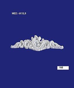 Aplique em Resina Provençal 11,5x3,5 cm - 165