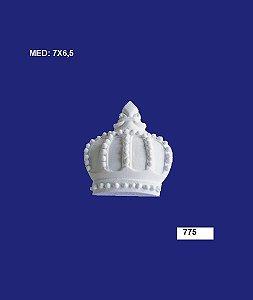Aplique em Resina Coroa Média 7x6,5cm - 775