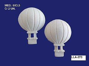 Aplique em Resina Par de Balões 5x3,5cm - LLA 273