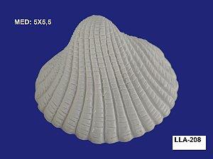 Aplique em Resina Concha do Mar 5x5,5 cm - LLA 208