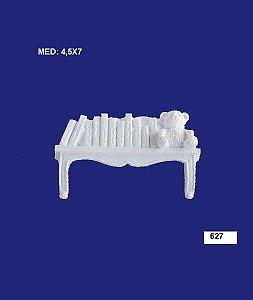 Aplique em Resina Prateleira Com Urso 4,5x7 cm - 627