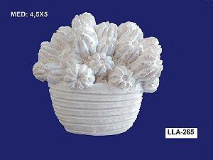 Aplique em Resina Vaso Cacto P 4,5x5 cm - LLA 265