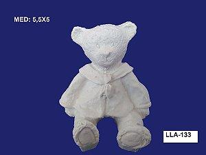 Aplique em Resina Urso Sentado 5x5,5cm - LLA 133