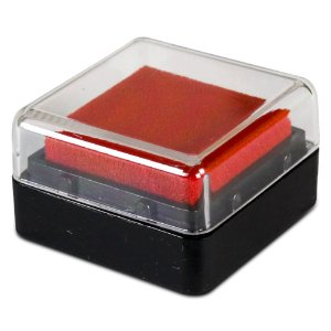 Almofada Para Carimbo Apex Vermelho Fogo 507