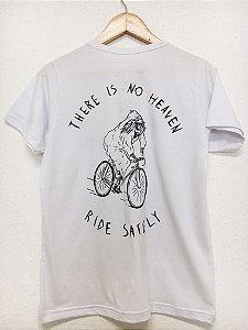 Camiseta There's no heaven - Branco
