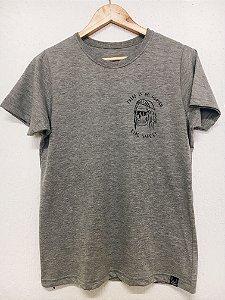 Camiseta There's no heaven - Cinza