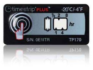 (-20°C/-4°F) 8h - Timestrip PLUS TP-170