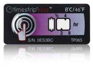 (8°C/46°F) 8h - Timestrip PLUS TP-065
