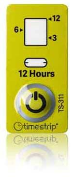 (12 horas) validade de produtos - Timestrip Life in Service TS-311