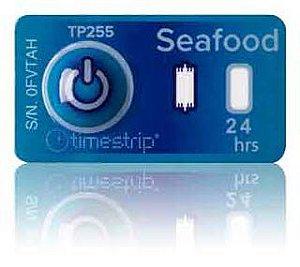 (3°C/37°F) 4h - Timestrip Seafood TP-255
